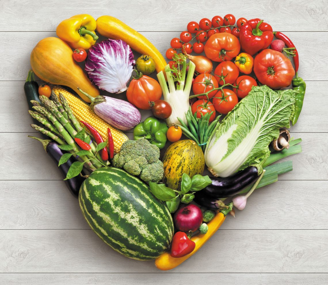 veggies are heart healthy