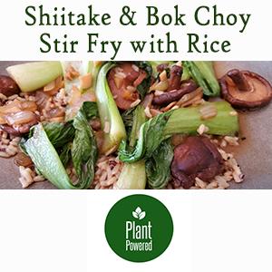 Shiitake & Bok Choy Stir Fry